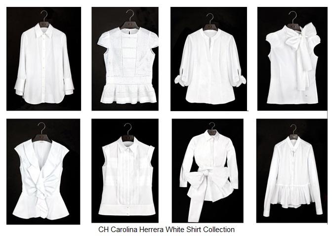 La camicia bianca secondo me parte ii giofashionpoint for Carolina herrera white shirt collection