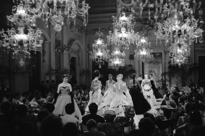 Tenth Italian High Fasion Show, Sala Bianca, July 1955