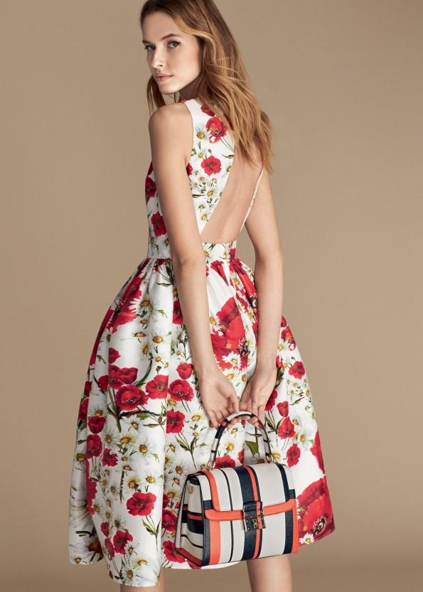 Abito floreale Dolce Gabbana - GioFashionPoint