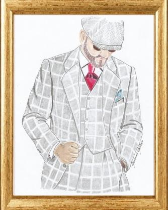 Agustín García - Pitti Uomo91, Italy by Giovanna Galleno