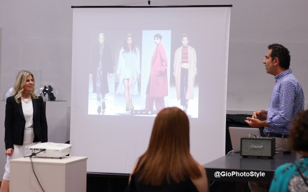 Caterina di Bert e Cristiano Burani Open Day MKS Milano Fashion School - GioFashionPoint