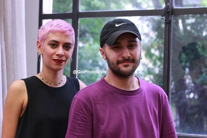 Gaia di Troia e Pasquale Donnarumma Open Day MKS Milano Fashion School - GioFashionPoint