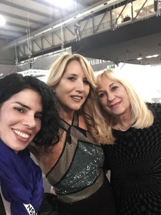 Annarita Pilotti, Jo Squillo e Giovanna Galleno