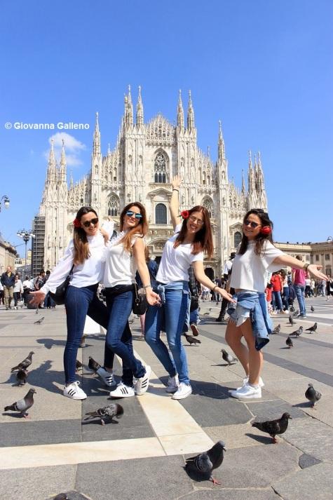 Piazza Duomo Milan by Giovanna Galleno