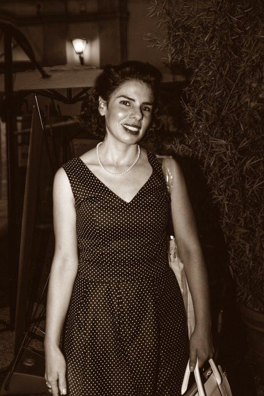 Vintage Style Giovanna Galleno Photo by Andrea Zendali
